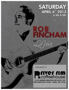 Appearing At River Rim April 6th